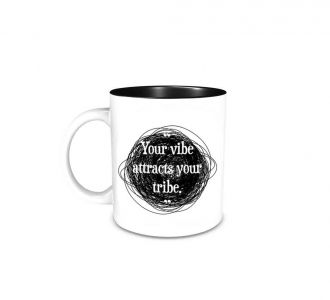 Superb Your Vibe Attracts Your Tribe Mug Prepared Using Ceramic