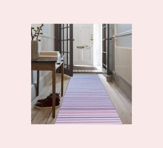 Multicolor Cotton Floor Covering Daniel Runner