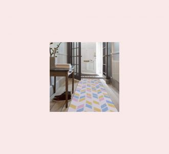 Multicolor Cotton Floor Covering Jora Runner