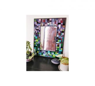Glass Mosaic Table Mirror For Home Decor