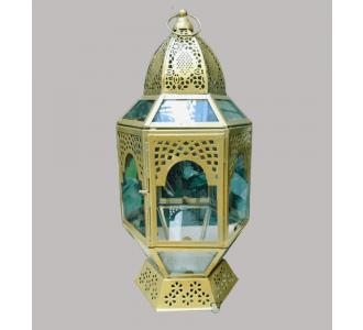 Beautiful Handmade Vintage Gold Moroccan Lantern